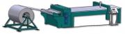 Derulator cu sistem de îndreptare, sistem de aducere în faţă a tablei, pentru instalaţii cu plasmă