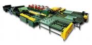 Linie automată de fabricare a tubulaturii de ventilaţie rectangulare