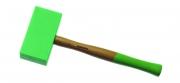 Ciocan de poliamidă, vârf dreptunghic, 145x75x35 mm