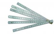 Metru din aluminiu, 2 m