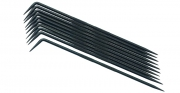 Set de 10 creioane de trasat lungime 190 mm