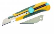 Cutter 25 mm, o lamă dreaptă, o lamă trapezoidală